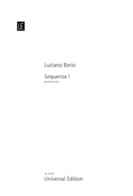 Berio, L :: Sequenza I