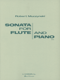 Muczynski, R :: Sonata for Flute and Piano op. 14