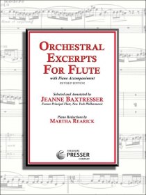 Various :: Orchestral Excerpts for Flute