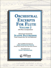 Various :: Orchestral Excerpts for Flute: Volume 2
