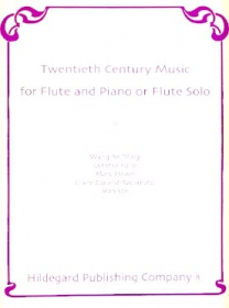 Various :: Twentieth Century Music for Flute and Piano or Flute Solo