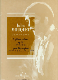 Mouquet, J :: 5 pieces breves  op. 39