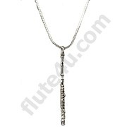 Necklace - Flute Silver