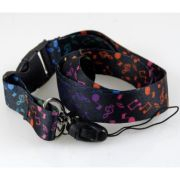 Lanyard - Black with Rainbow Music Notes