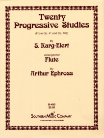 Karg-Elert, S :: Twenty Progressive Studies from Op. 41 and Op. 153
