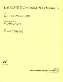 Palestrina, GP :: Laudate Dominum in Tympanis [Praise the Lord with Drums]