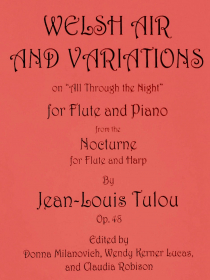 Tulou, J-L :: Welsh Air and Variations on 'All Through the Night' op. 48