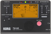 Korg TM-60 Metronome and Tuner Combo