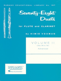 Various :: Seventy-Eight Duets for Flute and Clarinet - Volume II