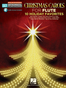 Traditional :: Easy Instrumental Play-Along - Christmas Carols: 10 Holiday Favorites