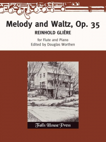 Gliere, R :: Melody and Waltz, Op. 35