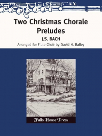 Bach, JS :: Two Christmas Chorale Preludes