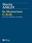 Amlin, M :: In Memoriam C.D.H.