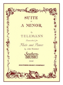 Telemann, GP :: Suite in A minor