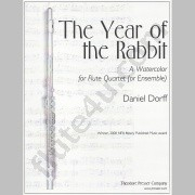 Dorff, D :: The Year of the Rabbit: A Watercolor