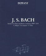 Bach, JS :: Sonata in C Major BWV 1033