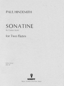 Hindemith, P :: Sonatine (In Canon Style)