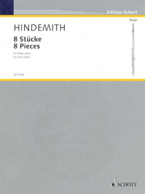 Hindemith, P :: 8 Stucke [8 Pieces]