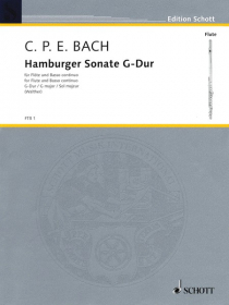Bach, CPE :: Hamburger Sonate G-Dur [Hamburger Sonata in G Major]