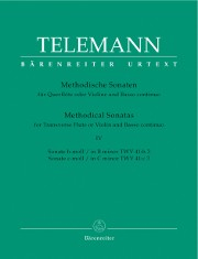 Telemann, GP :: Methodische Sonaten [Methodical Sonatas] Vol. IV