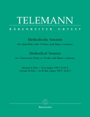 Telemann, GP :: Methodische Sonaten [Methodical Sonatas] Vol. V