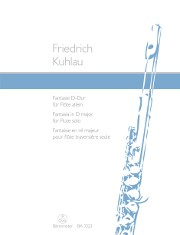 Kuhlau, F :: Fantasie D-dur [Fantasia in D major ] op. 38/1