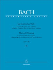 Bach, JS :: Musikalisches Opfer [Musical Offering] Volume III - Kanons [Canons]