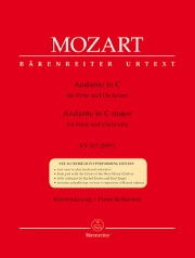 Mozart, WA :: Andante in C major KV 315 (285e)