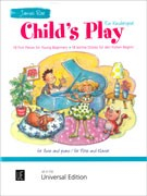 Various :: Child's Play: 18 First Pieces for Young Beginners