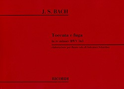 Bach, JS :: Toccata e fuga in re minore BWV 565 [Toccata and Fugue in D minor BWV 565]