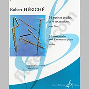 Heriche, R :: 24 Petites Etudes et 4 Recreations [24 Short Studies and 4 Recreative Pieces]