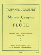 Taffanel, P; Gaubert, P :: Complete Method for Flute Volume 2