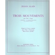 Alain, J :: Trois Mouvements [Three Movements]