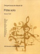 Various :: Zeitgenossische Musik fur Flote solo [Contemporary Music for Solo Flute]