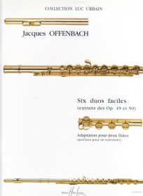 Offenbach, J :: Six duos faciles [Six easy duets]