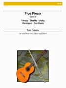 Febonio, TG :: Five Pieces for Alto Flute and Guitar