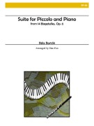 Bartok, B :: Suite for Piccolo and Piano op. 6