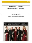 Brandts-Buys, J :: Christmas Quintet (Quintet in D - 'Weihnacht')