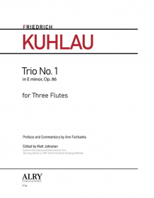 Kuhlau, F :: Trio No. 1 in E minor, Op. 86