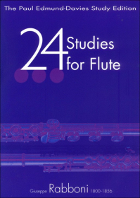 Rabboni, G :: 24 Studies for Flute
