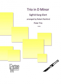 Karg-Elert, S :: Trio in D Minor