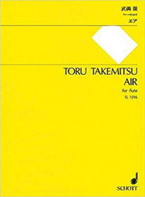 Takemitsu, T :: Air