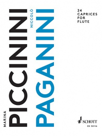 Paganini, N :: 24 Caprices for Flute