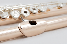 Haynes Flute 14K White or Rose Gold