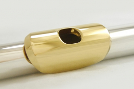 Mancke Flute Headjoint - Sterling Silver/21.5k Lip and Riser