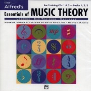 Alfred's Essentials of Music Theory CDs 1 & 2 for Books 1,2,3