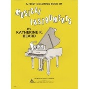 A First Coloring Book of Musical Instruments