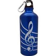 Aluminum Sports Bottle - Treble Clef