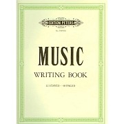 Music Writing Book