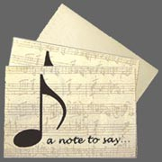 Note Cards - 'A Note to Say...'